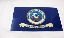 U.S. Navy Retired Sticker