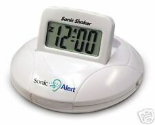 Sonic Shaker Vibrating Alarm Clock - Great for Deaf