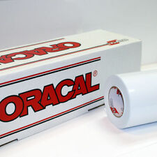"White Glossy Oracal 651 24"" x 10 Ft Roll of Craft and Sign Vinyl"