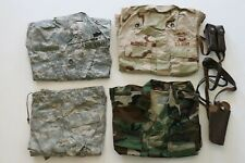 US Army DCU BDU & ACU 10th Mountain Division Grouping Jacket Shirt Iraqi Freedom
