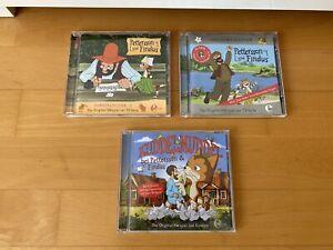 3x CD HÖRBUCH HÖRSPIEL PETTERSSON UND FINDUS FOLGE 2+7 SONDER/JUBILÄUMS-EDITION