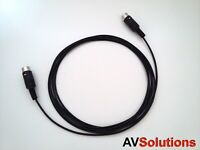 20 M. BeoLab Speaker Cable for Bang & Olufsen B&O PowerLink Mk3 (Black,Thin,HQ)
