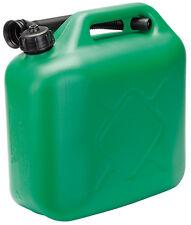 Draper 10L plastique réservoir carburant - Vert pfc-10-green 82694