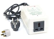 VOLTAGE CONVERTER TRANSFORMER STEP UP / DOWN 200W FROM 220 TO 110V & 220 TO 110V