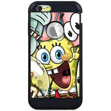 Apple iPod Touch 5/6 5th/6th Gen. Hybrid Case Cover Sponge Bob Friends