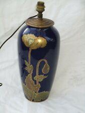 Ancien Grand Pied de lampe B&C en porcelaine  Bernardaud & Cie Limoges France