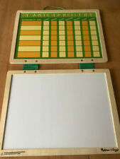 Melissa & Doug Magnetic Responsibility Chart w/ Whiteboard and Magnets