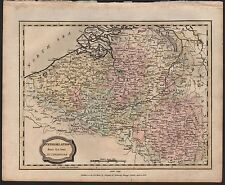 1806 ANTIQUE H/COL MAP - NETHERLANDS FROM THE BEST AUTHORITIES