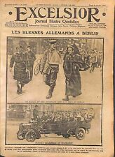 Wounded Feldgrauen Nurses Berlin Red Cross Truck Mercedes-Benz Germany WWI 1914