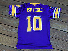 LSU Tigers Youth XL #10  Football Jersey by Colosseum Athletics