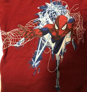 Spiderman 2 Marvel Boys tshirt red boys 7/8