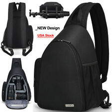 D17 Sling Camera Bag Backpack Shoulder Bag For Canon Nikon Sony Pentax SLR DSLR