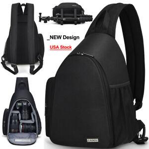 D17 Sling Camera Bag Backpack Shoulder Bag For Canon Nikon Sony Pentax SLR DSLR
