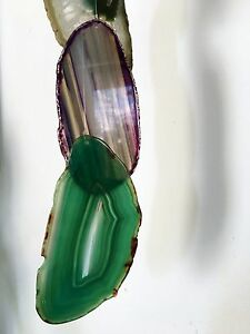 Colorful Agate Wind Chime