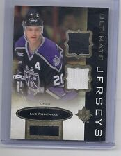 13-14 2013-14 ULTIMATE COLLECTION LUC ROBITAILLE ULTIMATE JERSEY UJ-JR KINGS