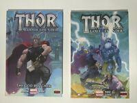 Marvel Thor God Of Thunder The God Butcher & Godbomb (1&2) HC TPB Graphic Novel