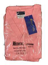 B.I.C.Medical Uniforms Size 2 Xl Pink Nursing Scrub 2 Piece Outfit Unisex New