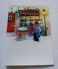 Smithsonian Institution 12 Toy Shop Christmas Wonder Cards Greetings w Envelopes