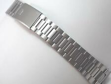 Mens Pulsar Vintage Stainless Steel Watch Band Deployment Clasp New Old Stock