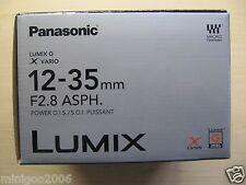 NEW PANASONIC LUMIX G X VARIO 12-35mm F2.8 ASPH POWER OIS H-HS12035 Lens*Offer