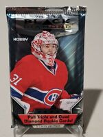 2014-15 UPPER DECK BLACK DIAMOND HOCKEY FACTORY SEALED HOBBY PACK 5 CARDS
