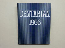 1966 UNIVERSITY OF MICHIGAN SCHOOL OF DENTISTRY YEARBOOK  MI