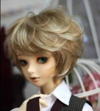 1/4 bjd 19-21cm head doll wig 2 colors mixed dollfie luts iplehouse msd W-176M
