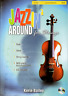 JAZZIN' AROUND FOR STRINGS Violin Sheet Music Book & CD Shop Soiled