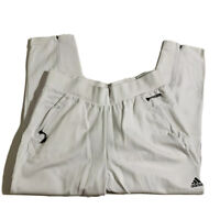 ADIDAS ZNE Tapp White Tapered Athletic Inspired Sweat Pants NEW Women's XL $90