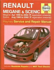 RENAULT Megane & Scenic 1.4 1.6 2.0 1.9 BENZINA DIESEL 1999 - 2002 Manuale di riparazione
