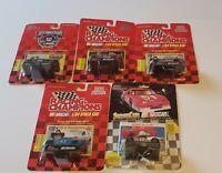 5 - Racing Champions Nascar 1/64 Die Cast Stick Car Lot. New
