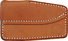 Sharpshooter Glacier Bay Pocket Sheath Premium brown leather construction will h