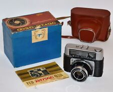 "Collectible Ussr ""Fed Atlas"" Camera + Industar-61 lens, f2.8/52, Boxed (3)"