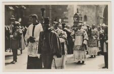 Hungary postcard - Budapest, Procession of St Stephen Day in the Castle Royal