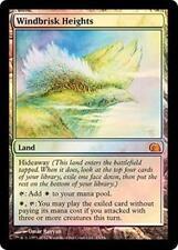 Foil WINDBRISK HEIGHTS From the Vault: Realms MTG Land Rare