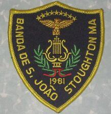 """Banda de São João Stoughton MA Patch - Portugal - 3 1/2"""" x 4"""""""