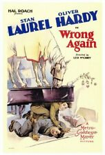 WRONG AGAIN 1929 Laurel and Hardy 20 minutes 400 foot Super-8  Silent Blackhawk