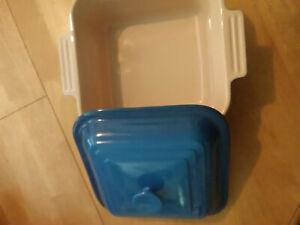 Le Creuset Blue Baked Bean/Casserole Pot w/ Lid*OVEN ONLY*