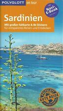 Reiseführer Sardinien Costa Smeralda + herausn. Karte wie neu 2018/19 Polyglott