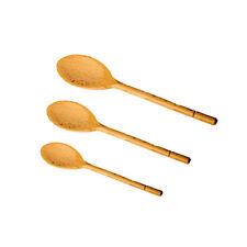 Russel conjunto de 3 madera haya cucharas cocina Preparación utensilios largo