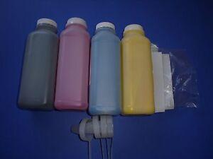 4 HY Toner Refill + 4 Chip for Samsung SL-C1810w SL-C1860FW Color printer
