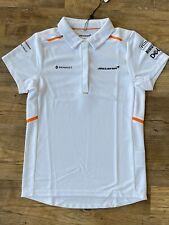 NWT McLaren Formula 1 Official 2019 Team Polo Shirt - Size Women's Small