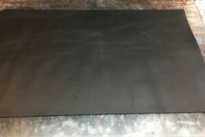 BLK Garment Leather OffCuts 40 by 25cm Motorcycle Upholstery Remnants RATS BUM