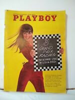 May 1967 Playboy Magazine Complete Centerfold Vargas Carroll Shelby And News Cut