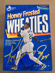 Ken Griffey Jr Collectors Edition Wheaties Cereal Box Baseball