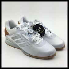 Adidas Leistung 16 II Mens Weightlifting Shoes Size 11.5 White Silver CQ1771 New