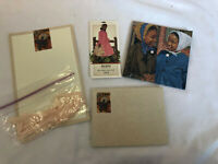American Girl Addy Paper Stationery Letter Writing Set Envelopes Ribbon Cards