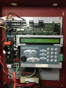 FCI Fire Control Instruments 7100 Panel 7100-1D Dact Dialer Used Working 1 Loop