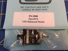 Pro Slot Ps-2000 16 D Balanced Unsealed Motor from Mid America Raceway