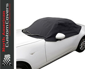 RP262 Fiat 124 Spider Convertible Soft Top Roof Half Cover - 2015 to 2020